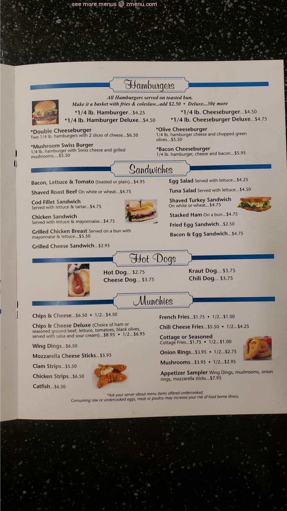 Online Menu Of Thornapple Kitchen Restaurant Middleville Michigan 49333 Zmenu