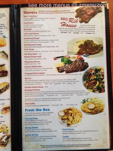 Online menu of fino 39 s family restaurant closed for Cuisine 1300 monroe mi