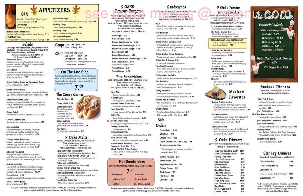 Thai Oak Park Restaurant