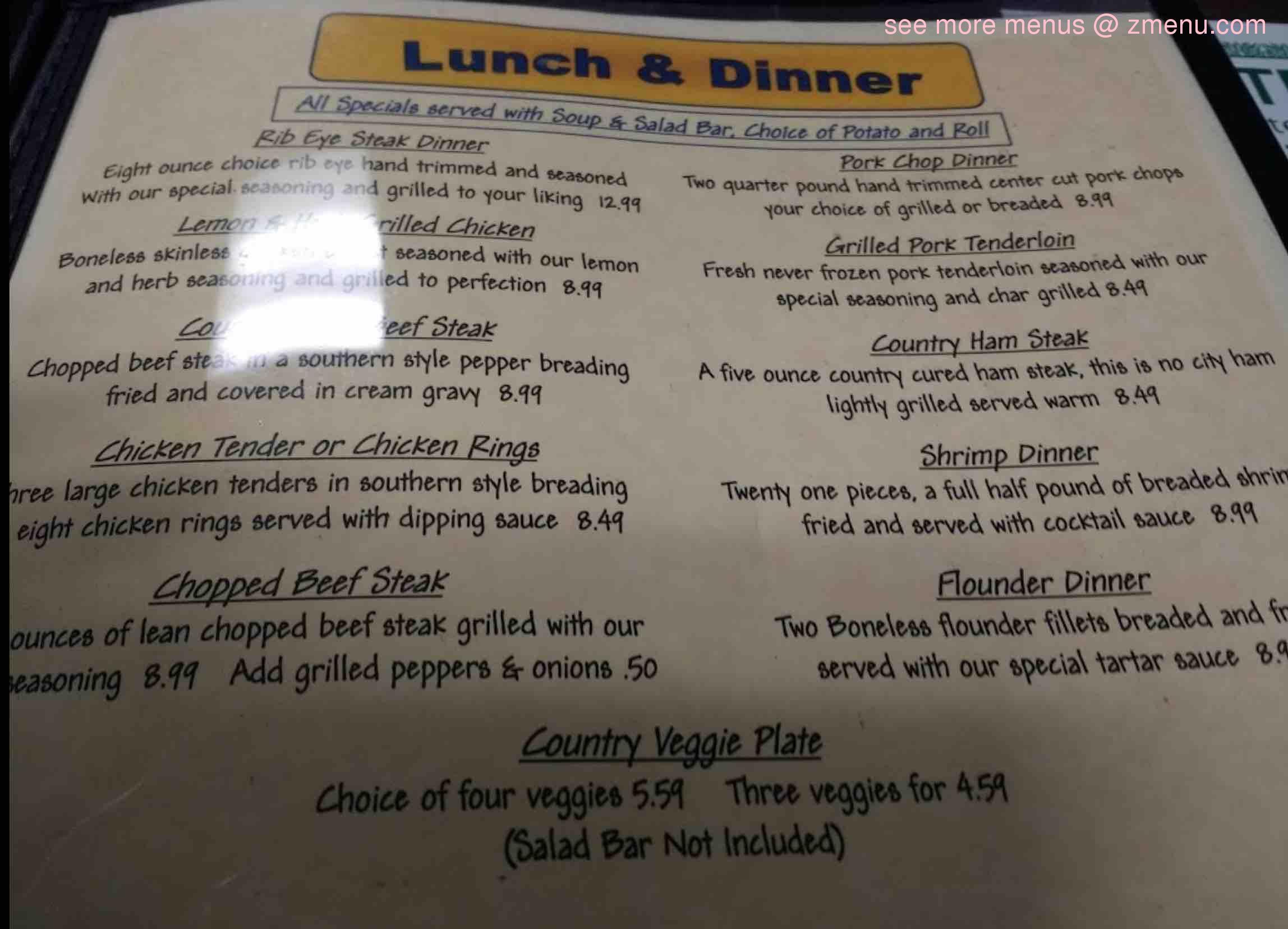 Online Menu Of Eastgate Family Restaurant Restaurant Henderson