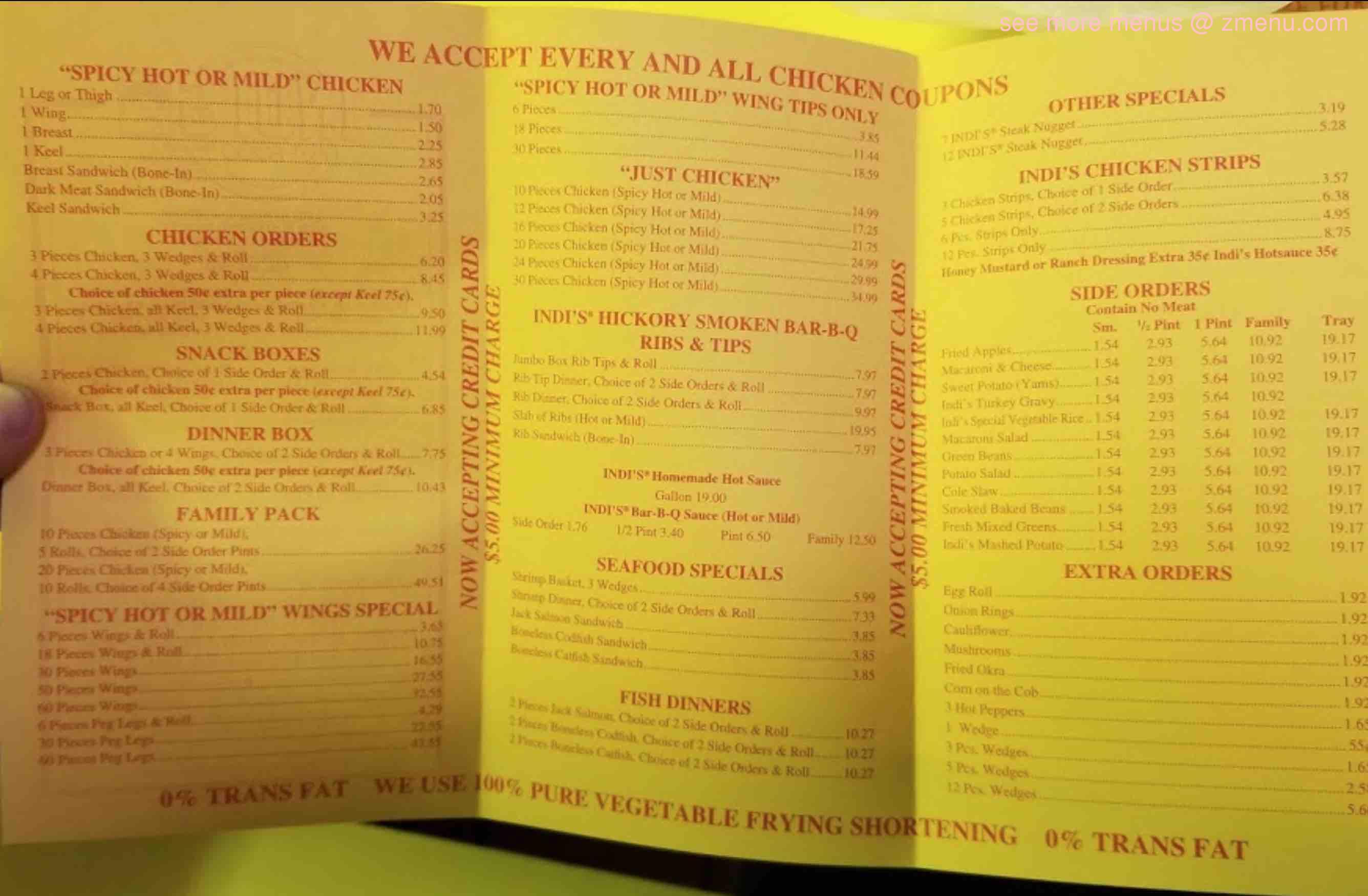 Online Menu Of Indis Fast Food Restaurant Restaurant