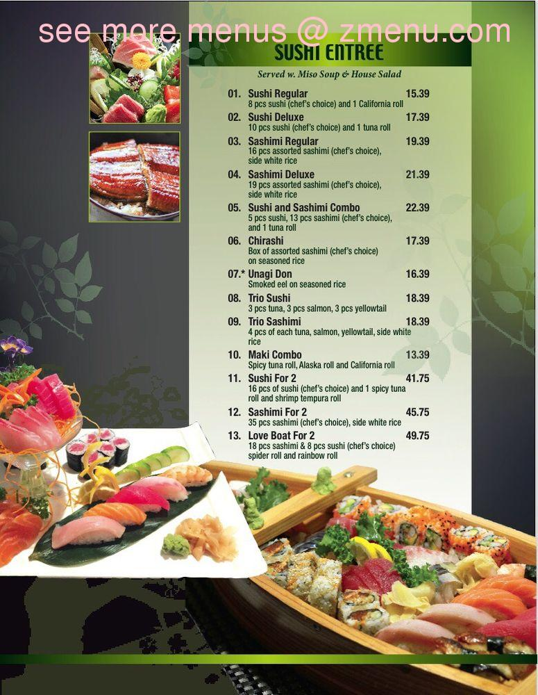 Online Menu Of Mt Fuji Restaurant Madisonville Kentucky 42431