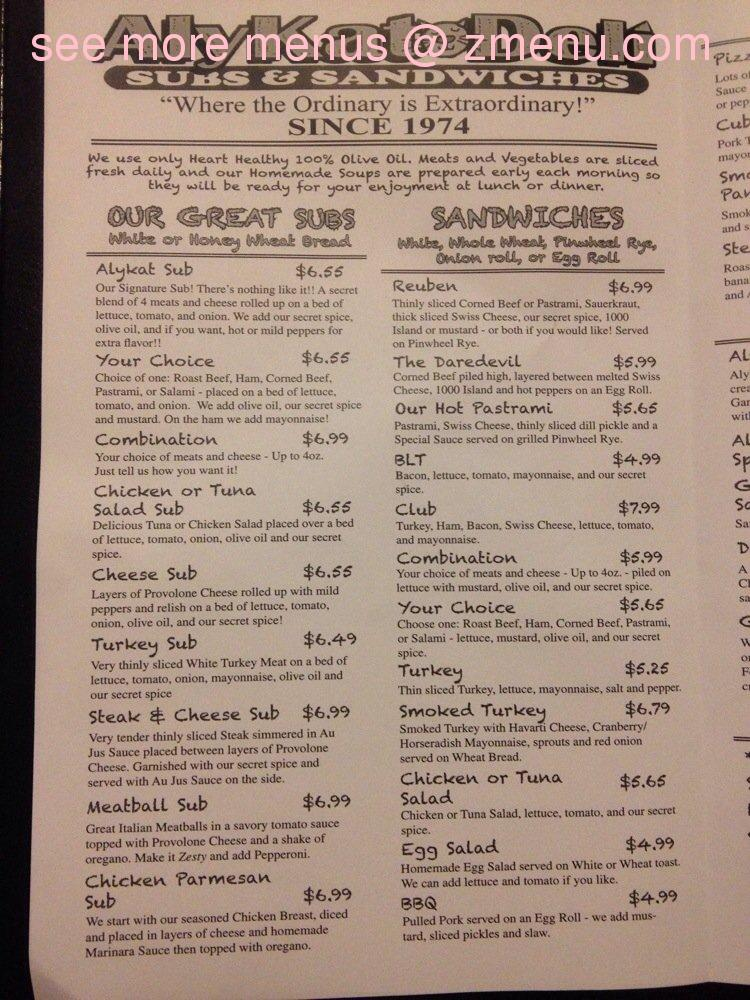 Online Menu Of Alykat Restaurant Hendersonville North Carolina 28792 Zmenu