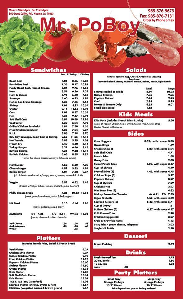 Www Restaurants In Houma La