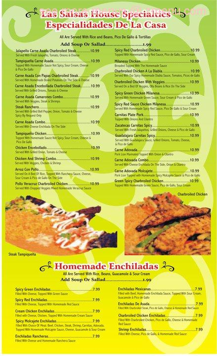 Fatz Cafe Marion Menu