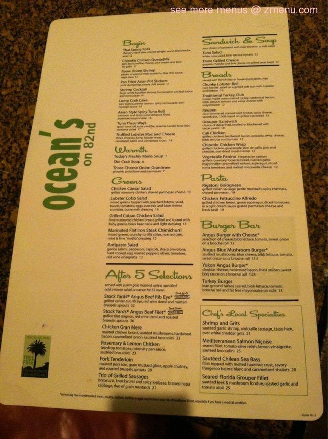 Ocean S Cafe Nd