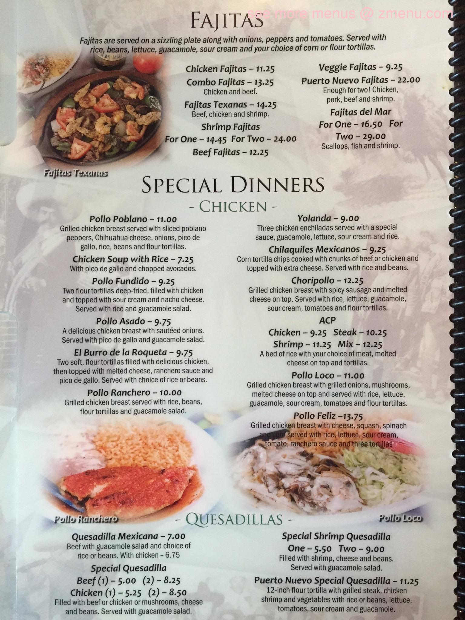 Puerto Nuevo Mexican Seafood Restaurant West Union Sc