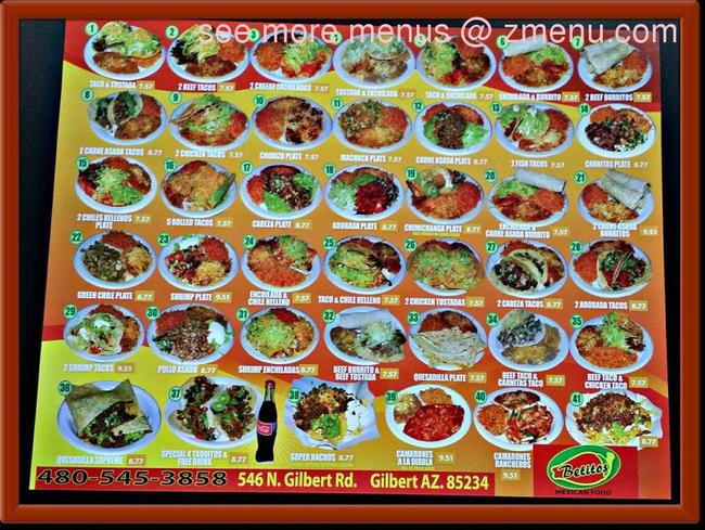 Gilbert Mexican Food Arizona