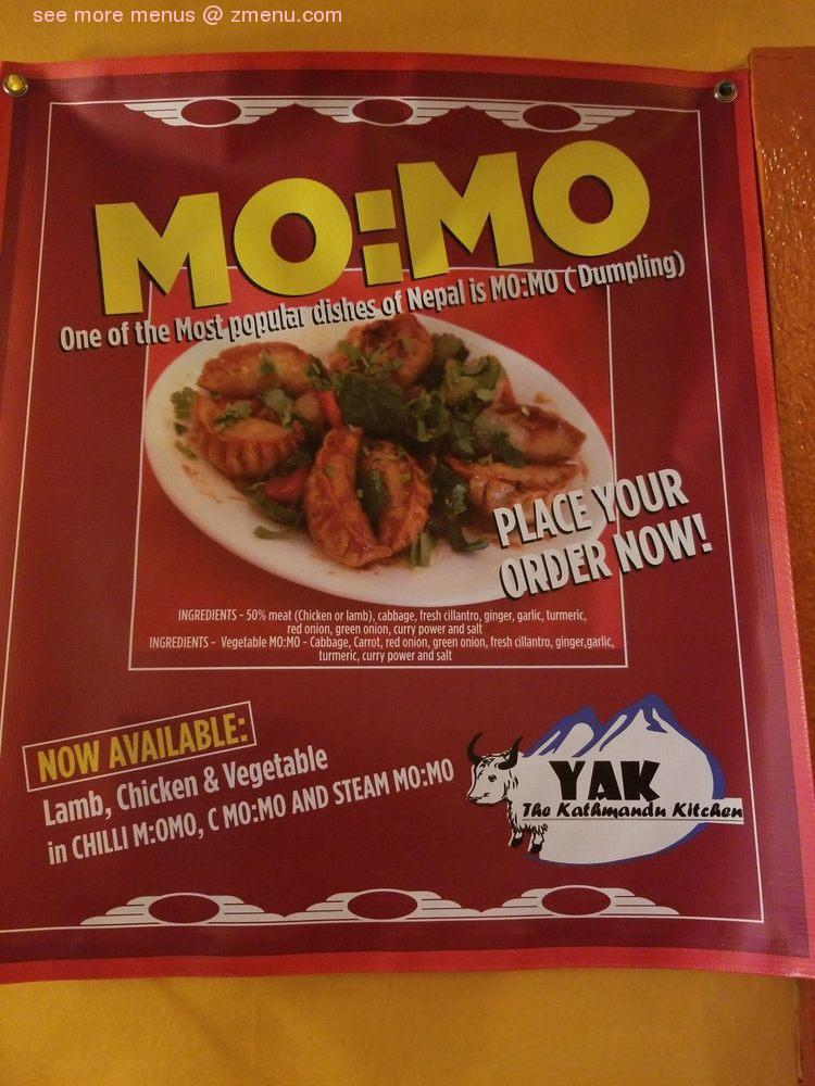 Online Menu Of Yak The Kathmandu Kitchen Restaurant Mobile Alabama 36606 Zmenu