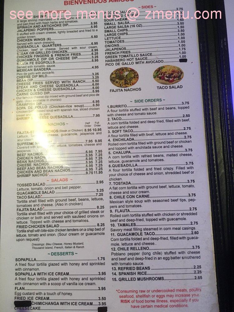 Online Menu Of Jalapenos Mexican Restaurant Restaurant Montgomery