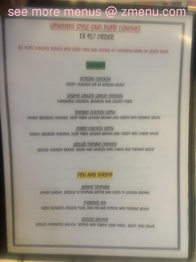 Online Menu Of Julies Kitchen Restaurant Colorado Springs