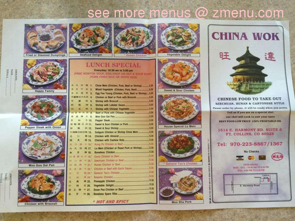 Chinese Food Fort Collins Co