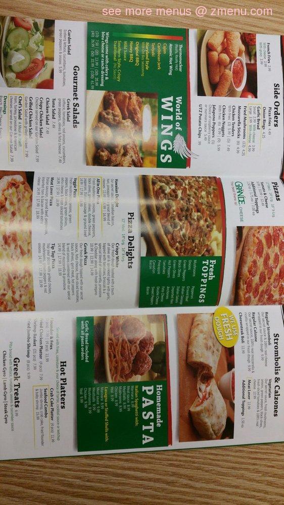 Online Menu of Pizza City Restaurant, Pasadena, Maryland, 21122 - Zmenu