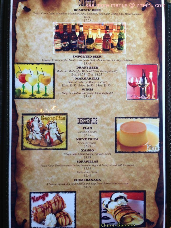 Online Menu of Mi Finca 3 Restaurant, Norton, Virginia ...