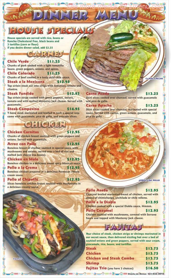 Garibaldi Mexican Restaurant Salem Oregon
