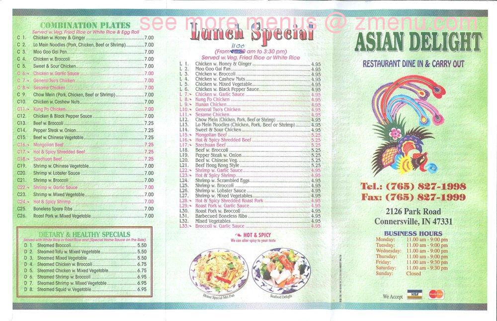 John S Asian Delight Restaurant