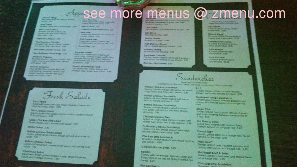 Cell Block  Restaurant Bar Menu