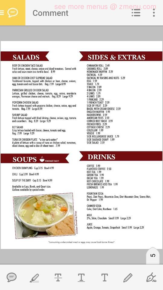 Mom S Kitchen Eau Claire Menu
