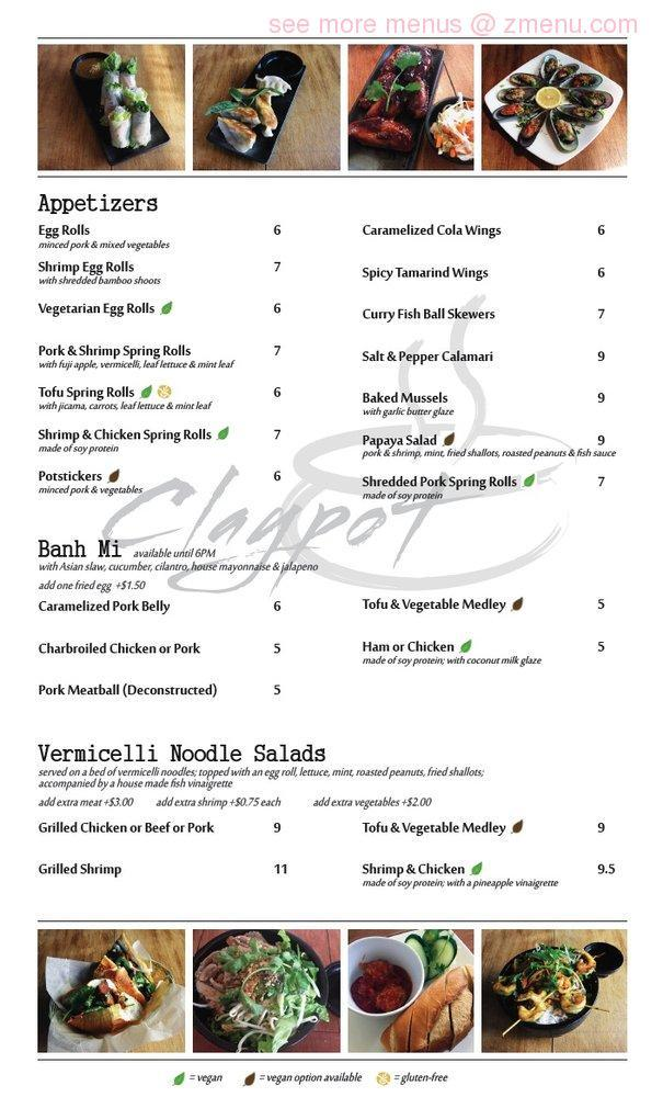 Online menu of claypot restaurant closed restaurant for Anchalee thai cuisine berkeley ca