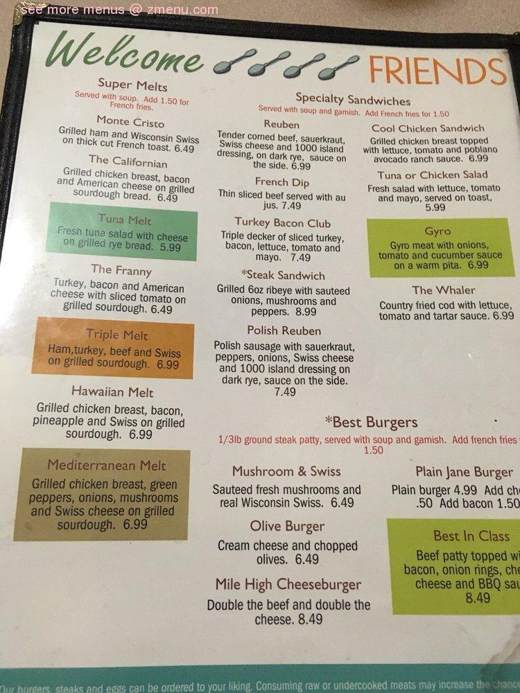 Online Menu Of Marshfield Family Restaurant Marshfield Wisconsin 54449 Zmenu