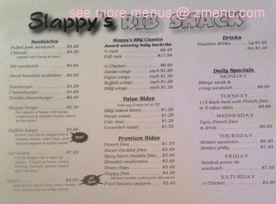 Slappy S Restaurant