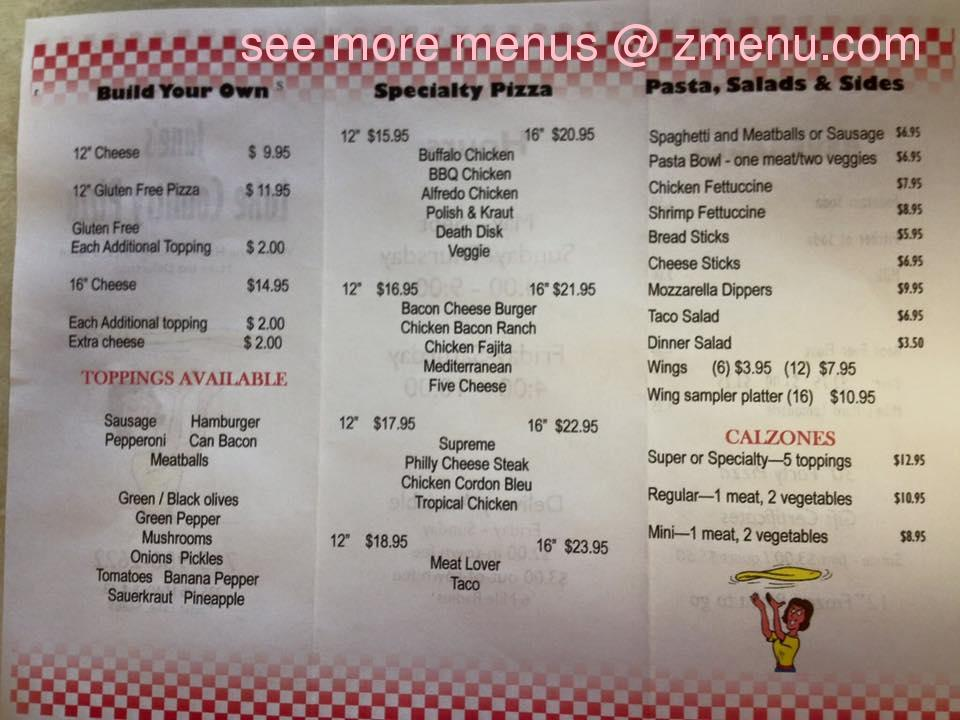 Online Menu Of Lake Country Pizza Restaurant Turtle