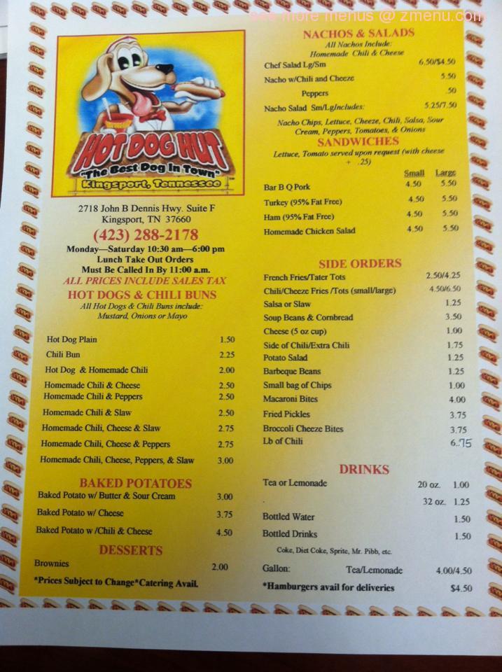 Hot Dog Restaurants Us