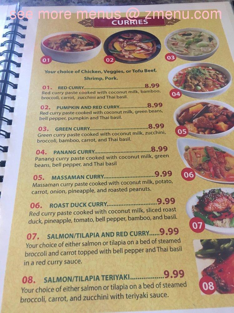 Online Menu Of Sawaddee Thai Cuisine Restaurant Jefferson