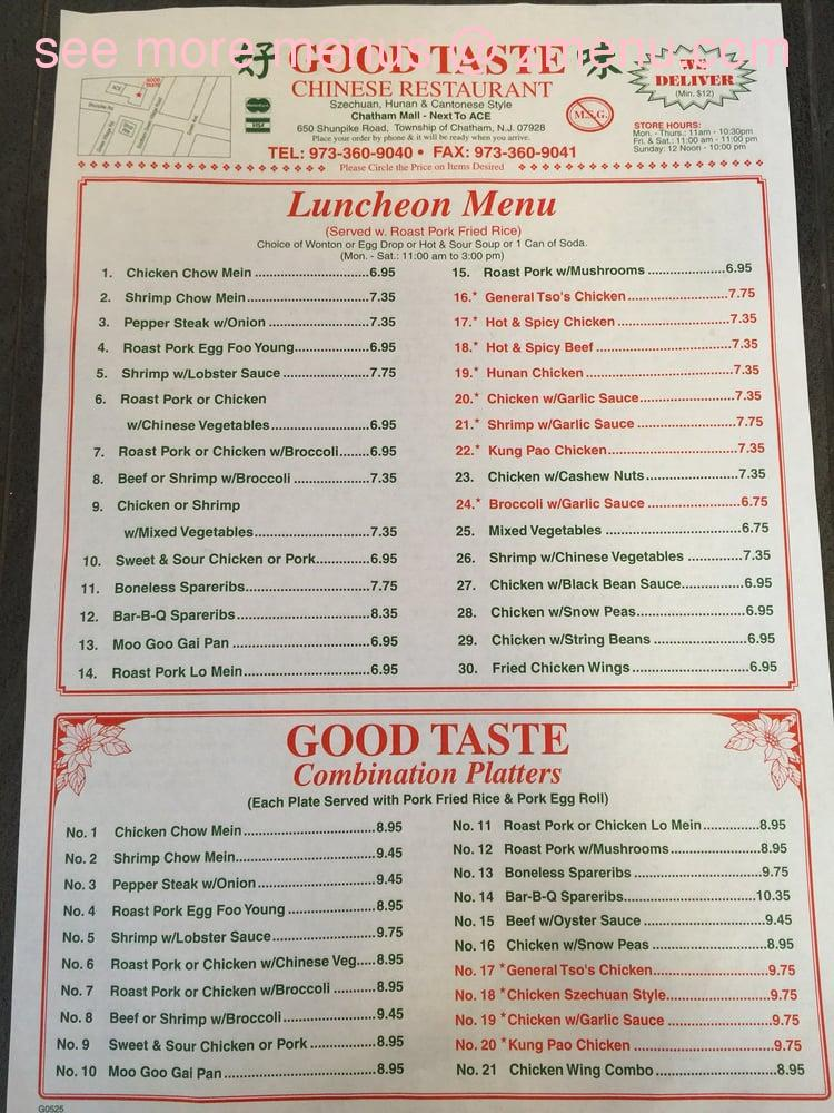 Chinese Food Madison Nj