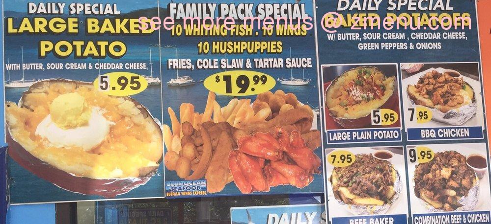 Online menu of boston fish supreme closed restaurant for Boston fish supreme menu