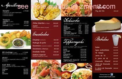 Online menu of kotori wok asian cuisine restaurant for Asian 168 cuisine menu