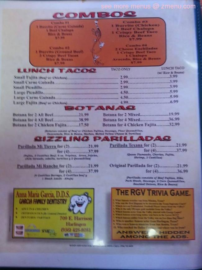 Mi Rancho Restaurant Harlingen Tx