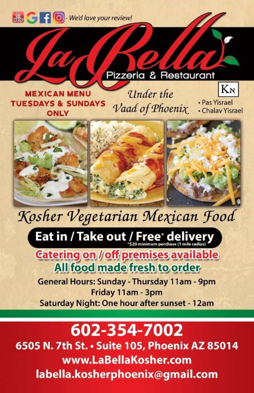 Online Menu Of Labella Pizzeria And Restaurant Restaurant