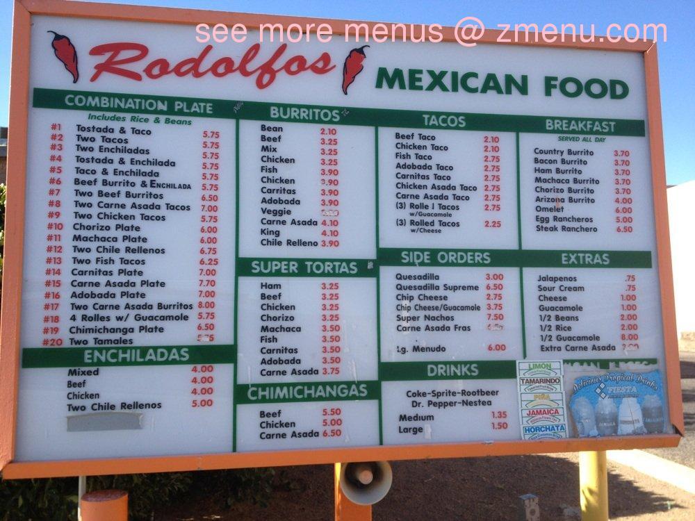 Sierra S Mexican Food