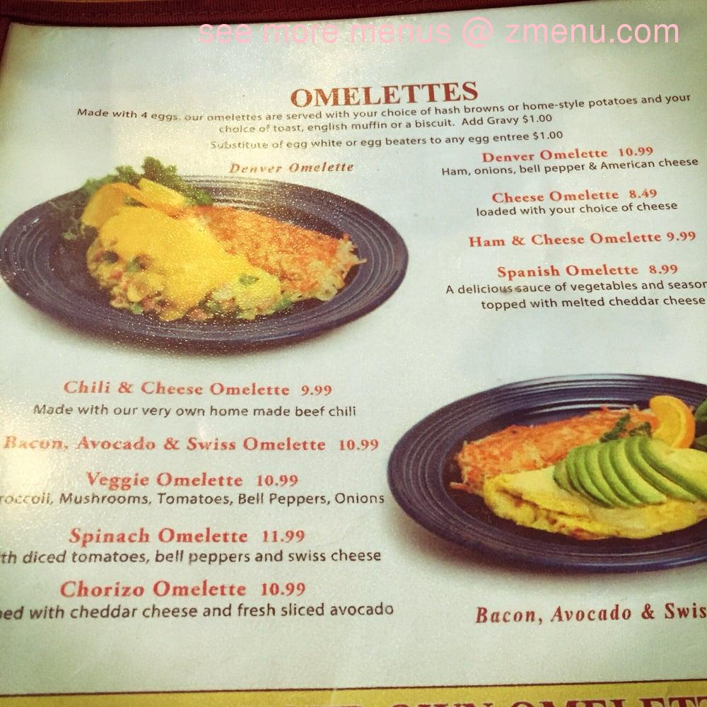 Online Menu Of Leos Country Kitchen Restaurant, Fontana