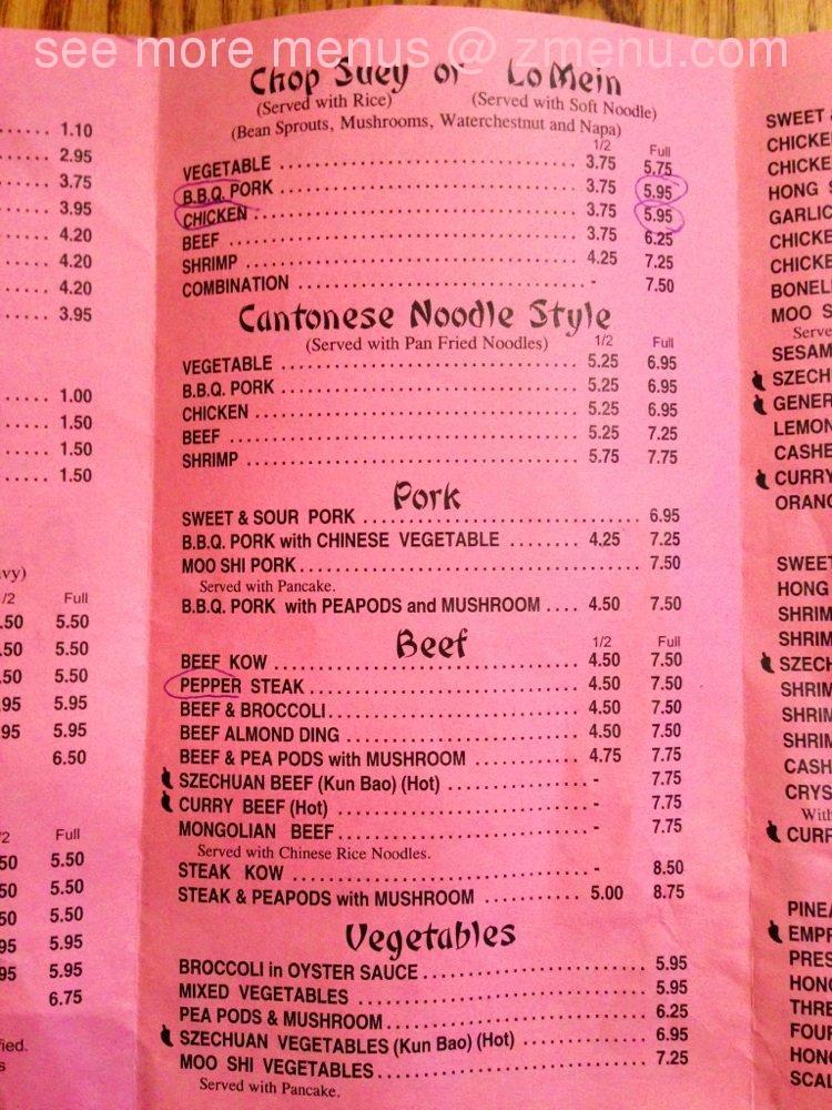Burlington Wi Chinese Food