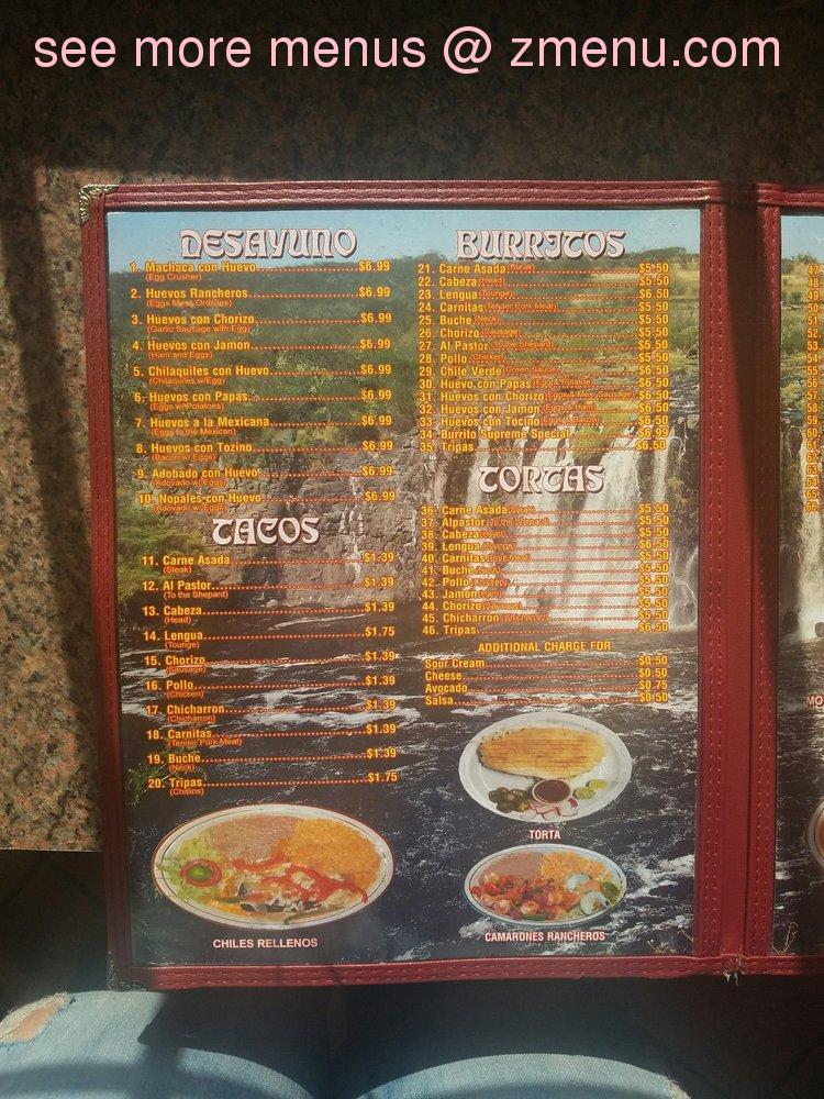 Online menu of tacos la piedad restaurant fresno california 93705 note publicscrutiny Choice Image