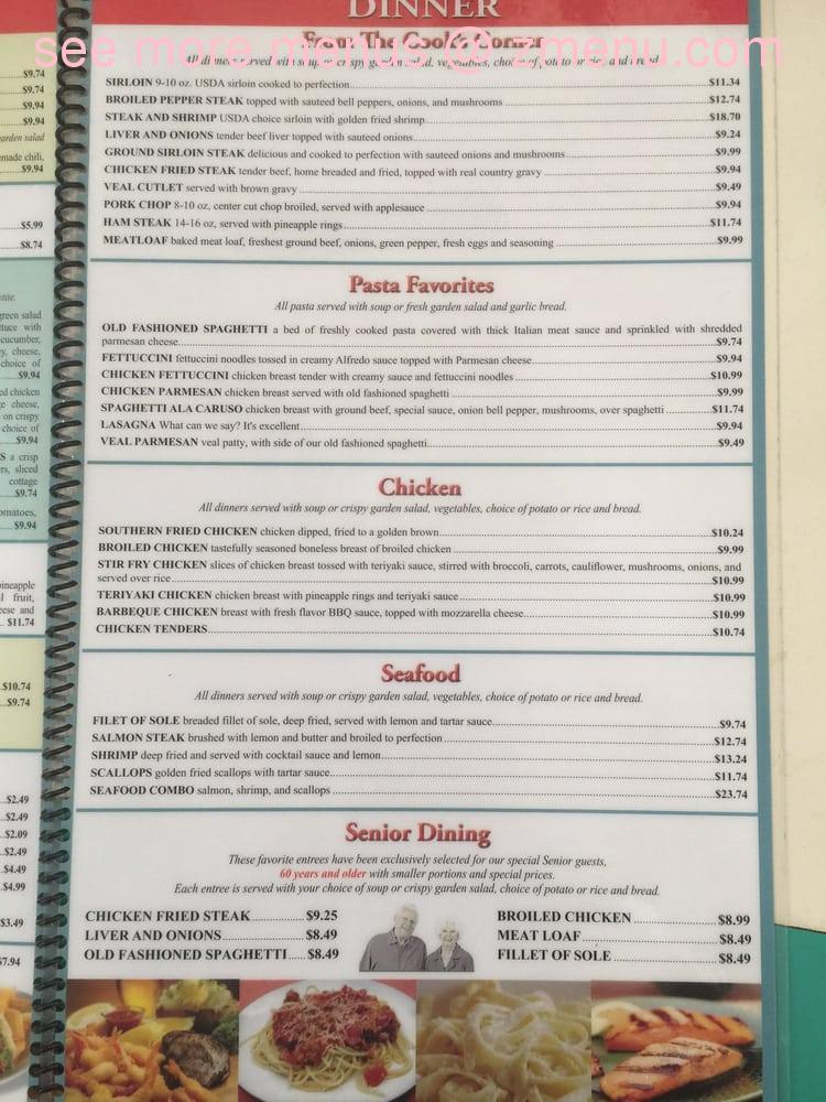 Online Menu Of Spring House Restaurant Restaurant Hesperia