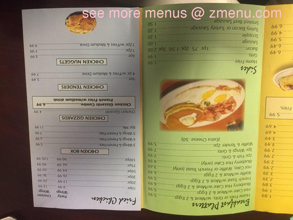 Kimmy S Soul Food Menu