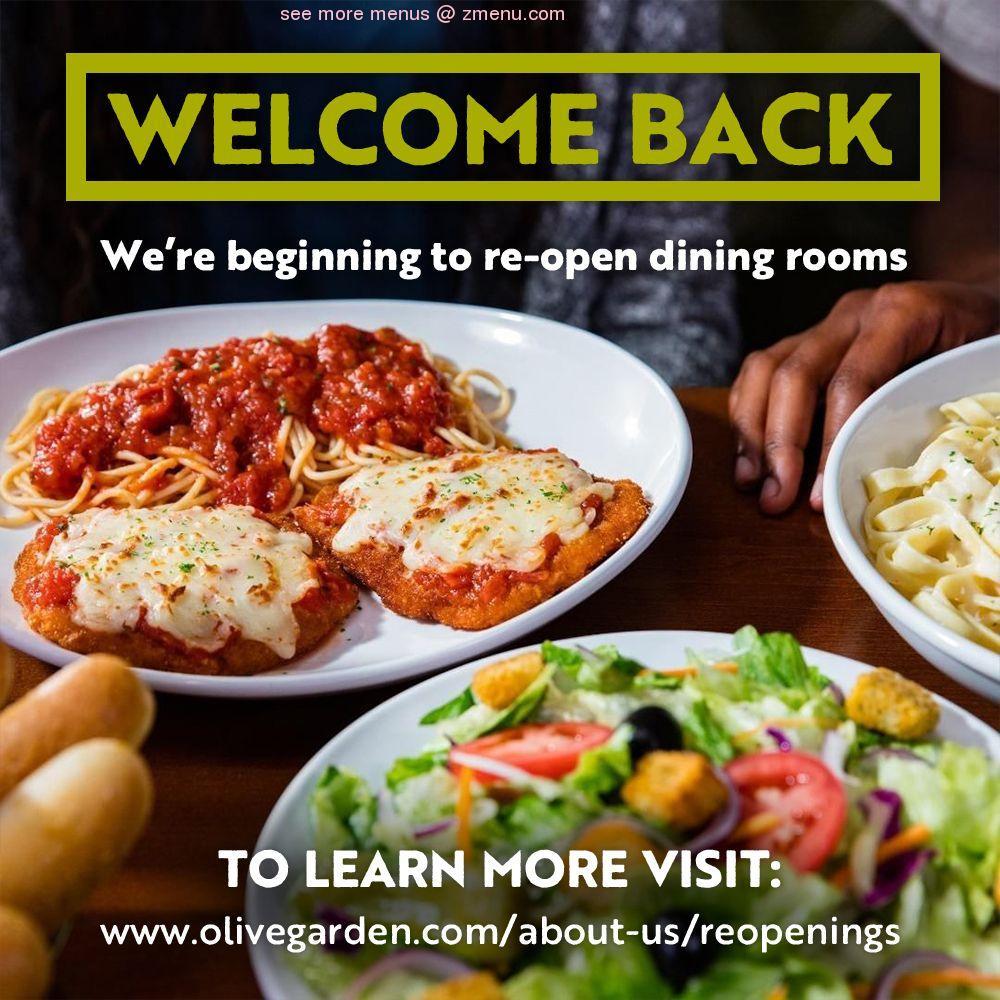 Online Menu Of Olive Garden Italian Restaurant Restaurant Salisbury Maryland 21801 Zmenu