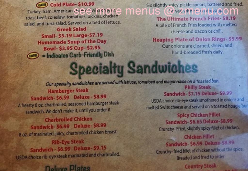 Clock Spartanburg Restaurant