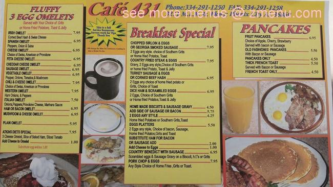 Cafe  Phenix City Al