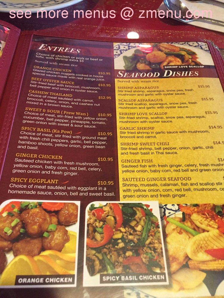 Swell Online Menu Of My Thai Cuisine Restaurant South Lake Tahoe Home Interior And Landscaping Oversignezvosmurscom