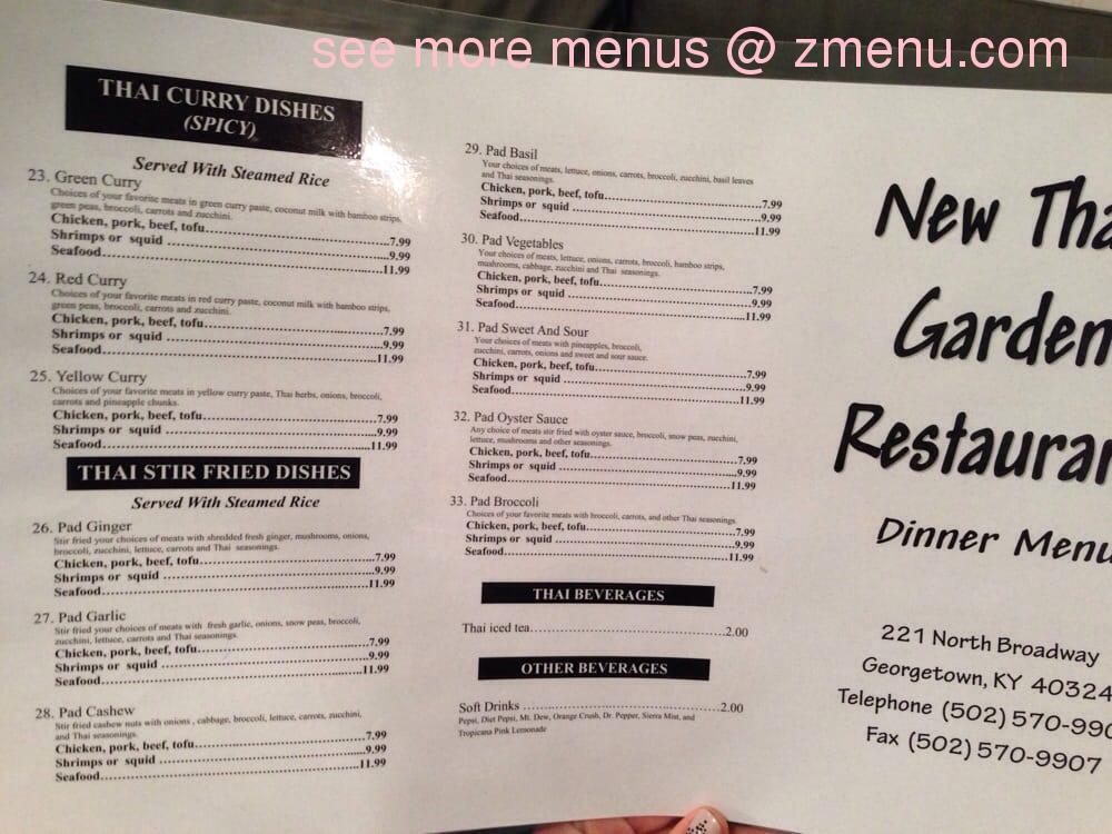 Thai Food In Georgetown Ky