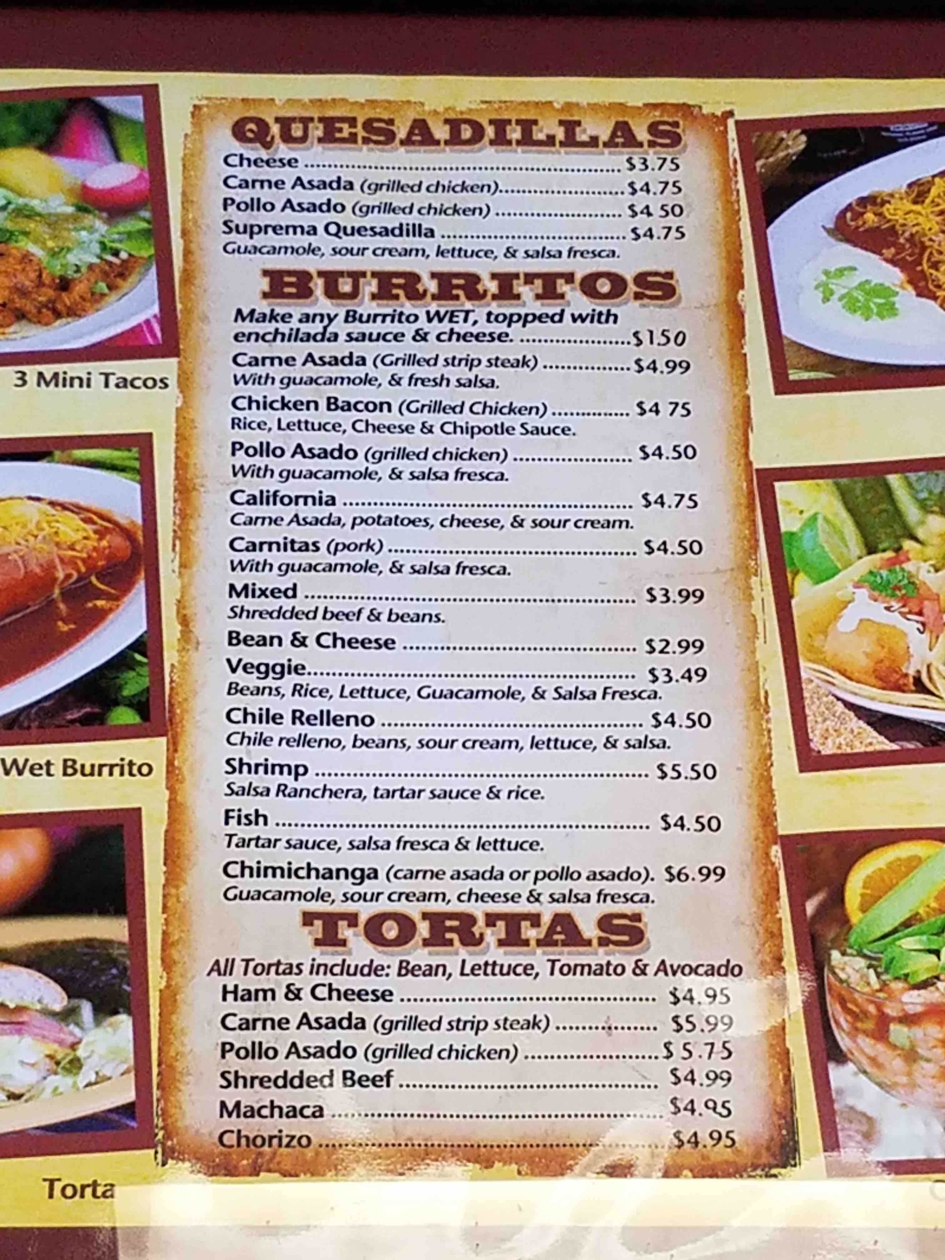 Authentic Mexican Food St George Utah