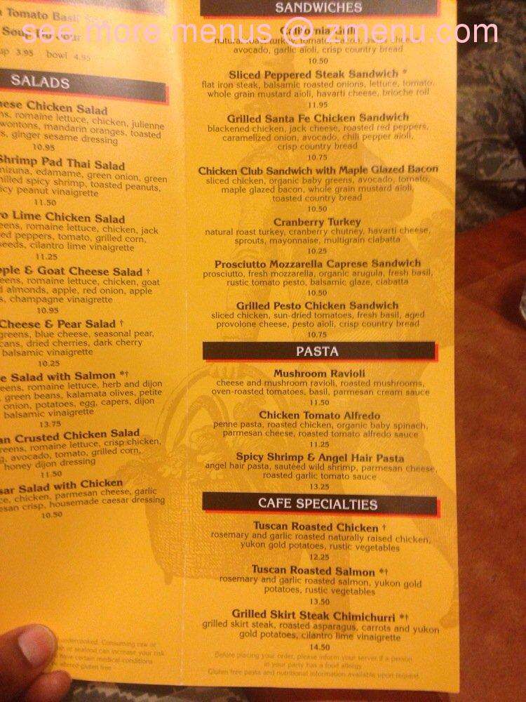 Nordstrom Cafe Menu Anchorage Ak