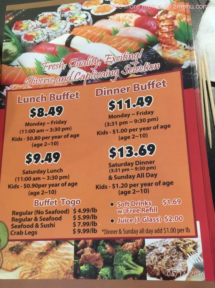 online menu of hibachi grill buffet restaurant norwalk california rh zmenu com hibachi grill buffet price palmdale ca hibachi grill buffet price
