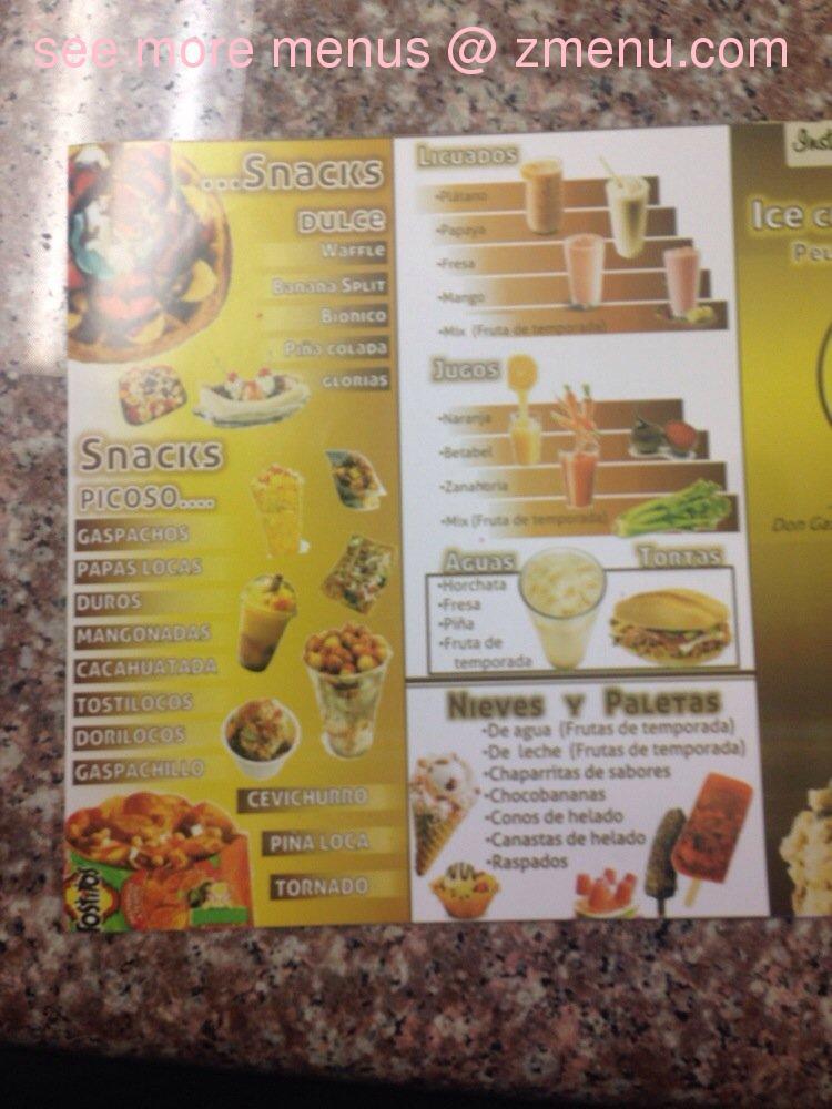 Online Menu Of Don Gaspacho Restaurant Hayward California 94544