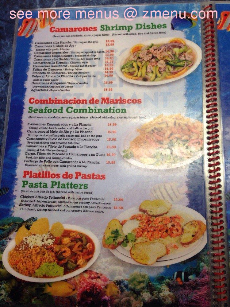 Ocha Classic Restaurant California Menu