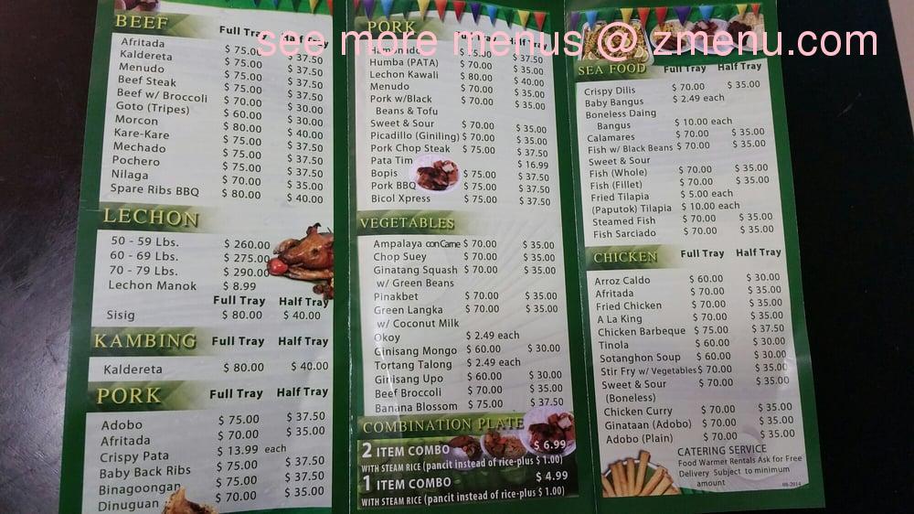 Manila Fast Food Restaurant San Diego Ca